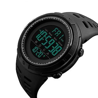 Men Sport Watches, Countdown Menăs Waterproof Led Digital Military Clock