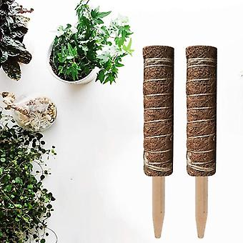 Coir Moss Totem Pole Stick For Creepers Plant Support Extension Climbing Indoor