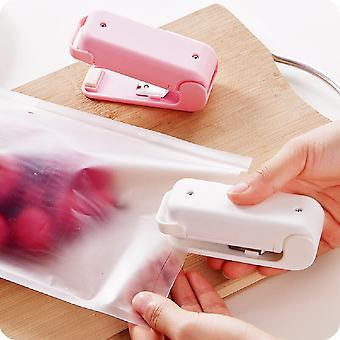 Portable Bag Sealer Heat Package Machines Mini Handy Sealing Machine Household Heat Food Snack Clip Heat Sealer for Kitchen