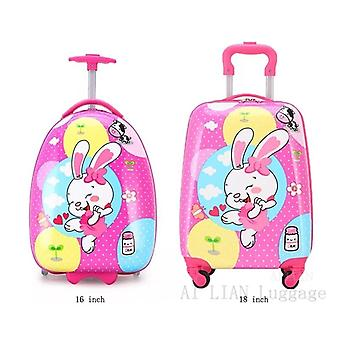 Carry-on Kids Luggage Cartoon Travel Trolley