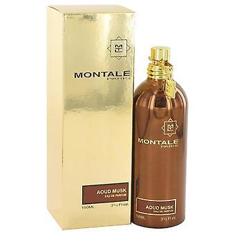 Montale Aoud Moschus Eau De Parfum Spray von Montale 3,3 oz Eau De Parfum Spray
