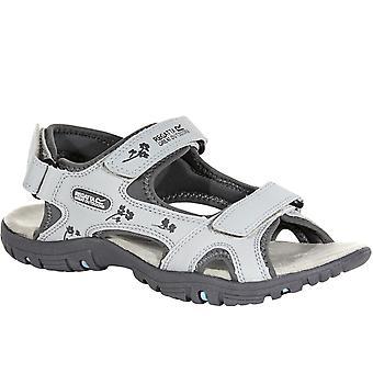 Regatta Womens Haris Outdoor Walking Hiking Adjustable Sandals - Steel Granite