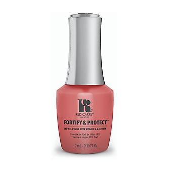 Red Carpet Manicure Fortify & Protect Gel Polish - Adoracoralable