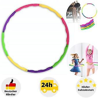 Children's Hula Hoop 8-piece Hip Massage Sport Fitness Gymnastics