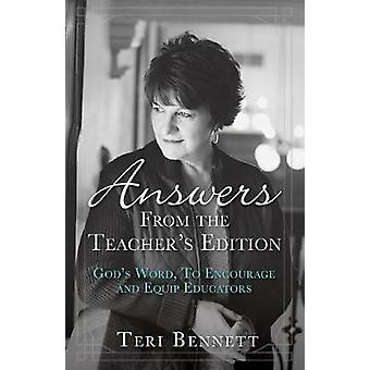 Answers from the Teacher's Edition - God's Word - to Encourage and Equ