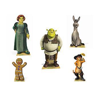 Shrek Lifesize Cardboard Cutout Party Pack - Sarja 5