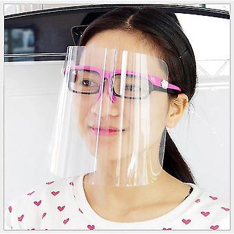 Полное лицо защиты анти слюны анти пены безопасности прозрачная защита лица маска