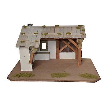 Crib PHILIPPI wooden crib Nativity Christmas Nativity stable