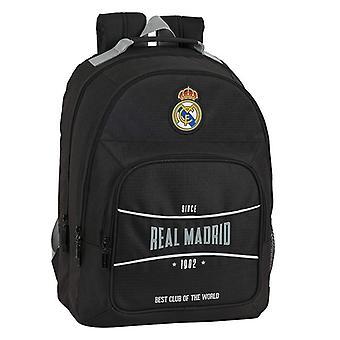 Bolsa escolar Real Madrid C.F. Negro