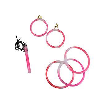Roze fosforescerende juwelen