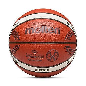 Bola oficial de basquete de couro tamanho7/6/5 Pu