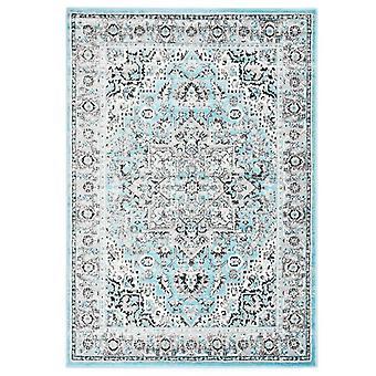 vidaXL Carpet Light Blue 140 x 200 cm PP