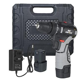Brushless Lithium Electric Drill Two-speed Rechargeable Drill Household Electric Hand Drill Portable Drill
