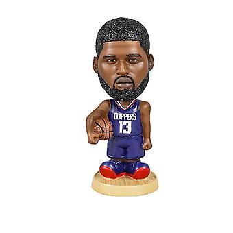 Los Angeles Clippers Paul George Bobblehead Action Figure Statue Basketball Doll