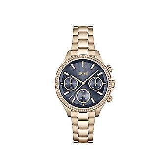 Hugo BOSS Analog Watch Quartz Woman with Stainless Steel Strap 1502566