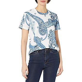 Desigual TS_POPASLEY تي شيرت، الأزرق، XL امرأة