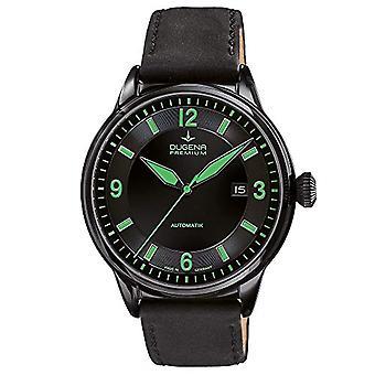Dugena Heren Automatisch Analoog Horloge met Lederen Band 7000301