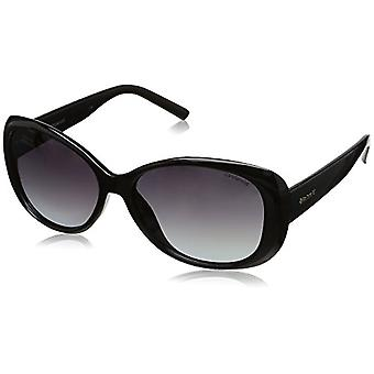 Polaroid PLD 4014/S WJ Glasses, Lenses: Grey Sf Pz, Frame: Shiny Black (D28), 57 Woman