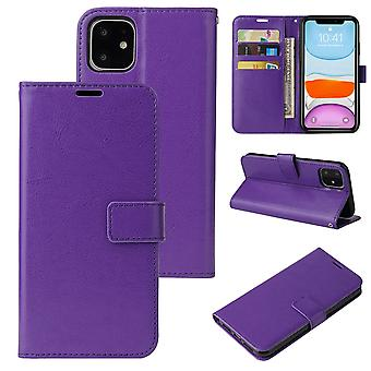 Flip folio leather case for samsung a32 5g purple pns-3536