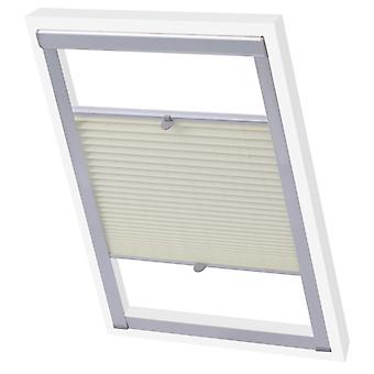 vidaXL Plissee Folding Store Colori crema P08/408