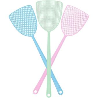 Long Handle Fly Swatter 3 Pack For Indoor And Outdoor
