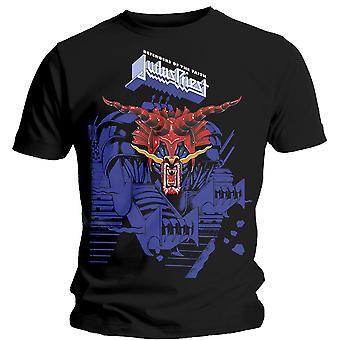 Judas Priest - Defenders Blue Unisex X-Large T-Shirt - Noir