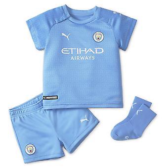 Puma Kids Manchester City Home Baby Kit 2021 2022 Inhemska sporter