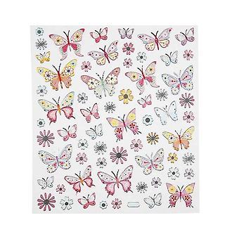 ÚLTIMOS POCOS - Hoja de pegatina de mariposa frustrada para artesanías | Pegatinas artesanales para niños