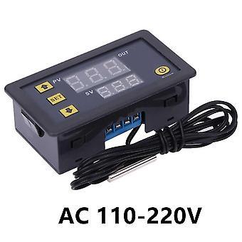W3230 mini digital temperaturregulator 12v 24v 220v termostatregulator värmereglering termoregulator med sensor