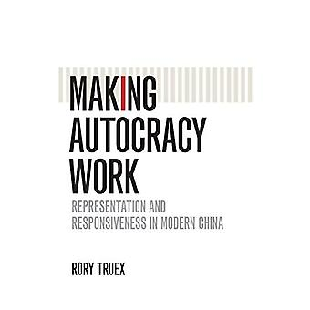 Making Autocracy Work: Representation and Responsiveness in Modern China (Cambridge Studies in Comparative Politics)