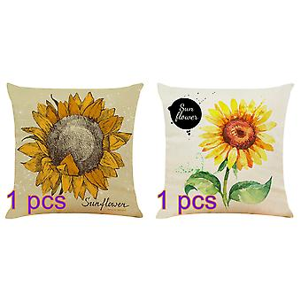 Linen Decorative Throw Pillow Covers Square Pillow Cases Cushion Covers for Sofa Couch Bed&Car