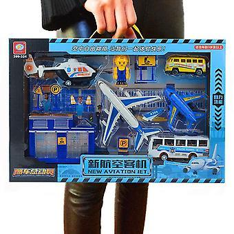 Children's Airliner Simulation Toy Set