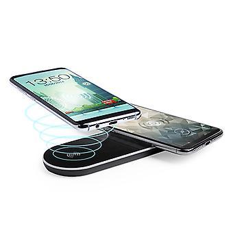 Chargeur sans fil Qi pour smartphones Noir 146142