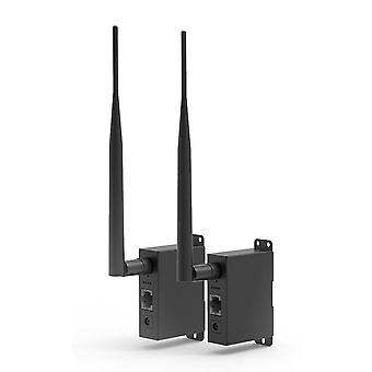 Draadloze Transceiver Point Ethernet Port Bridge Kit Outdoor Connection