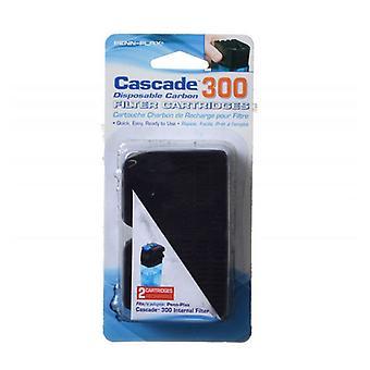 Cascade Internal Filter Disposable Carbon Filter Cartridges - Cascade 300 (2 Pack)