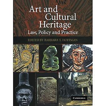 Art et patrimoine culturel : droit, politique et pratique