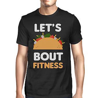 يتيح تاكو حول اللياقة البدنية للرجال القميص سيدات العمل خارج الرسوم المحملة