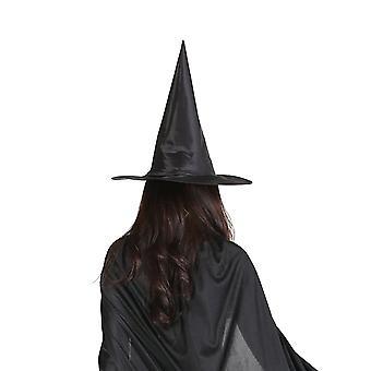 Halloween Oxford Kangas Noita Velho Hattu Magic Hat Party Lelut Musta Torni Hattu
