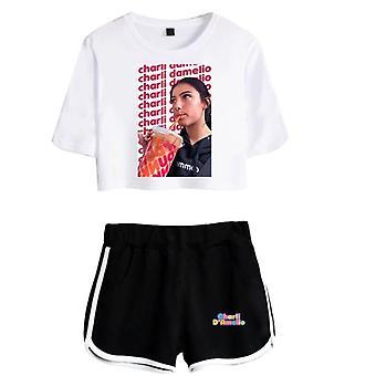 Charla Damelio Tik Tok T-shirt Conjunto 3