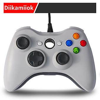 Xbox 360 Wired Game Controller Usb Pc Computer Game Controller Double Vibration
