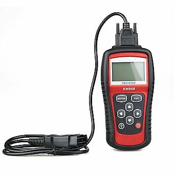 Ms509 Kw808 Obd2 Obdii Eobd Skaner kodów samochodowych Tester Tester Diagnostyczny