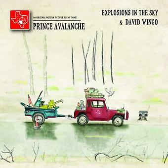 Explosions in the Sky & David Wingo - Prince Avalanche: An Original Motion Pic [CD] USA import