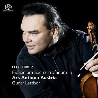 H. Biber - Fidicinium Sacro-Profanum [CD] USA import
