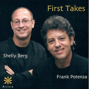 Potenza/Berg - First Takes [CD] USA import