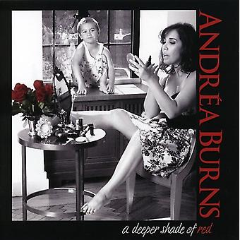 Andrea Burns - Deeper Shade of Red [CD] USA import