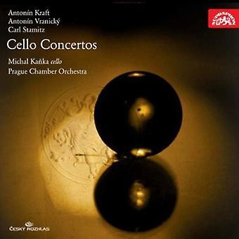 Kanka, Michal Prague Chamber Orchestra - Anton N Kraft, Anton N Vranick , Carl Stamitz: Cello Concertos [CD] USA import