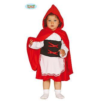 Little Red Riding Hood kostuum met kap Cape Red Riding Hood kostuum kind