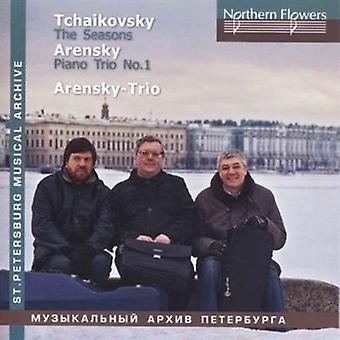 Ioff / Massarsk - Tchaikovsky: The Seasons a. Arensky - Piano Trio [CD] USA import