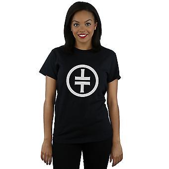 Prendre que Logo blanc copain des femmes bon T-Shirt