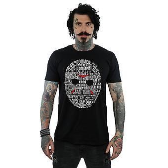 Friday 13th Men's Jason Text Mask T-Shirt